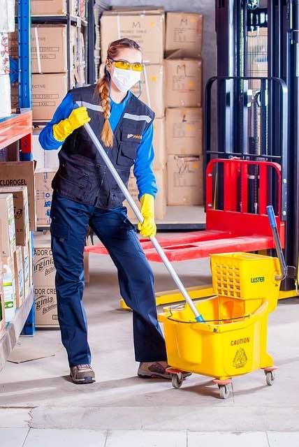Une agence de nettoyage professionnelle